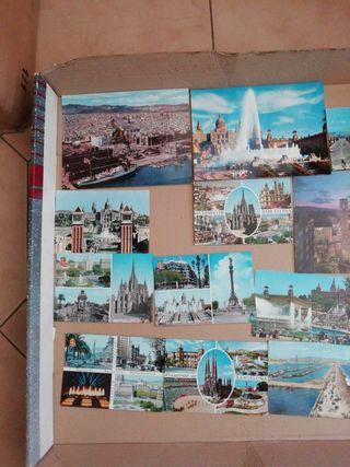 postales ciudad de Barcelona