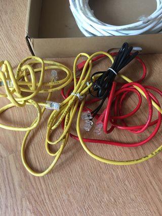 Cable de teléfono y de internet