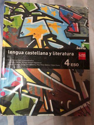 Libro de lengua castellana y literatura 4º ESO