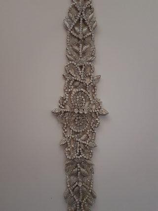 Cinturón Swarovski (novia)