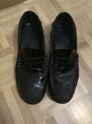 Zapato mocasín castellano caballero