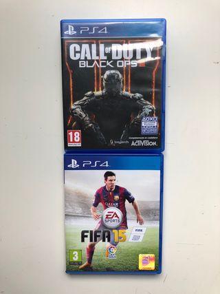 Videojuegos para la PS4