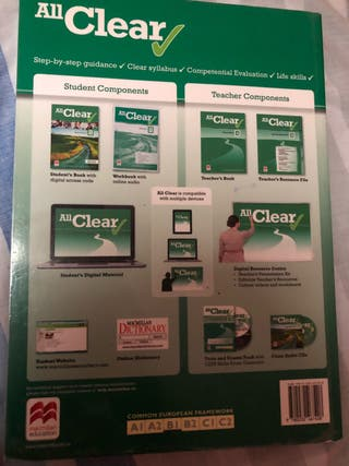 Libro inglés All Clear Workbook 4