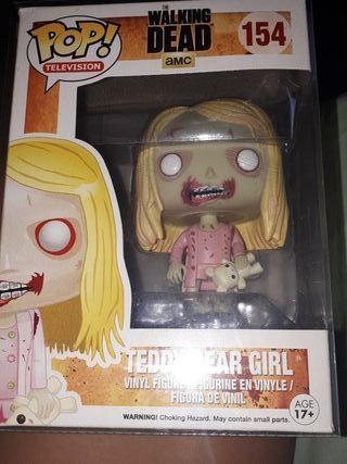 funko pop teddy bear girl (the walking dead)