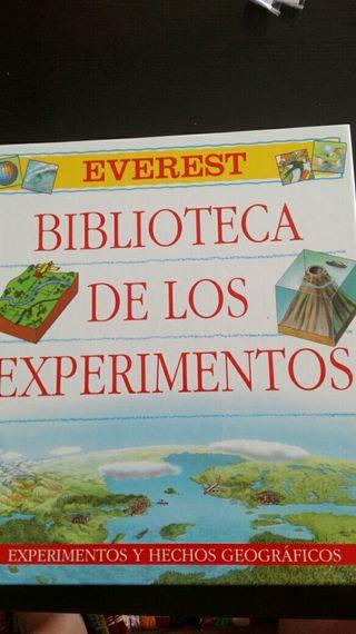 Biblioteca de los experimentos