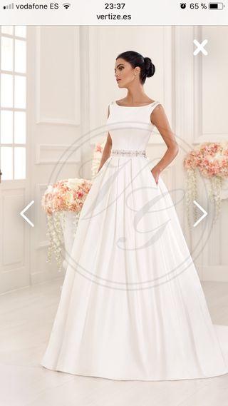 vestido de novia de segunda mano en talavera de la reina en wallapop