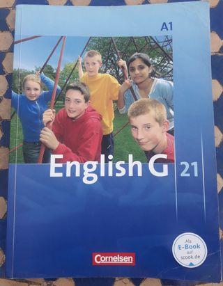 Libro escolar English G A1. Cornelsen.
