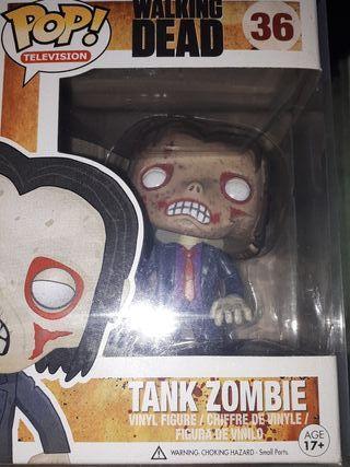 funko pop tank zombie (the walking dead)