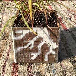Maceta azulejos quadrado alta gamma