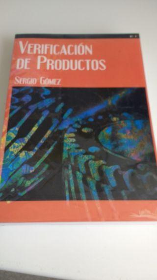 Libro Grado Superior Verificación de Productos