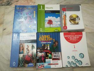 Libros de 1° Bachillerato de Ciencias Sociales