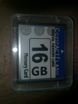 cf compact flash tarjrta 16 gb