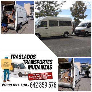 mudanzas i traslados con dos furgonetas