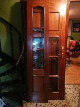 puerta doble salón