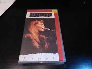 Vhs: BELINDA CARLISLE - Live!
