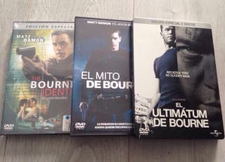 Trilogía JASON BOURNE en DVD