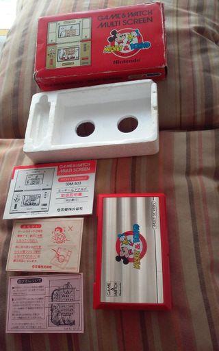 Game & Watch Nintendo Mickey & Donald