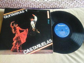 Lp de GUITARRAS Y CASTAÑUELAS ( COLECCIONISTAS )