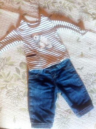 ropa bebé, talla 1 mes