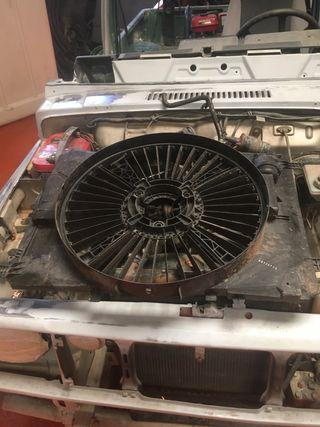 Carcasa ventilado mercedes