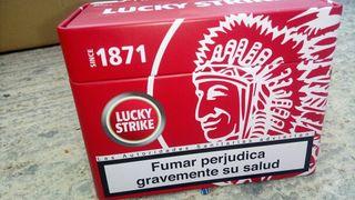 Cajas de tabacos Lucki Strike de 1871