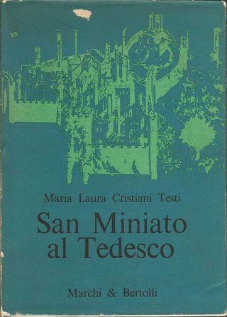 Libro en italiano sobre San Miniato al Tedesco