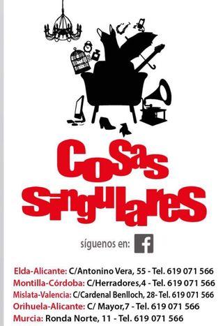 DISPONIBLE Franquicia (Murcia) COSAS SINGULARES