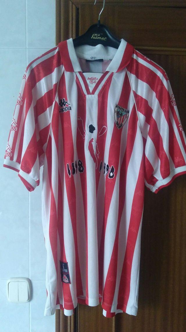 Camiseta centenario Athletic Bilbao de segunda mano por 99 € en ... 5d719b1ccc3