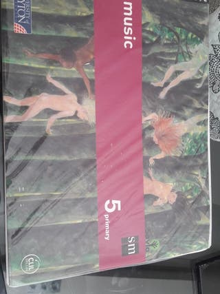 libro música 5º primaria editorial SM