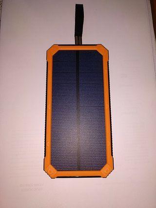 Batería portátil móvil +linterna