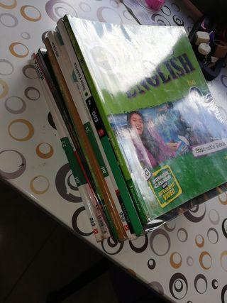 Vendo libros de 2°ESO o los intercambio por 3°ESO