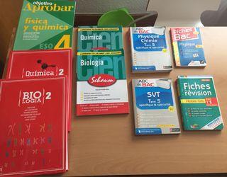 Libros de texto PAU y ESO
