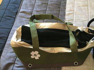 Bolsa transportín para gatos