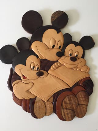 Madera de Mickey Mouse