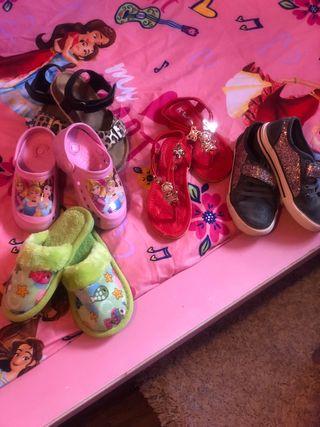 Lote zapatos talla 26-27