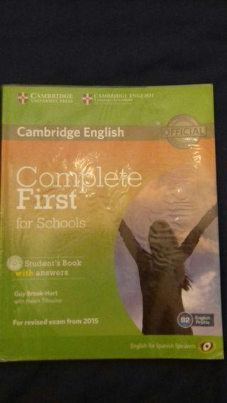 libro de Ingles cambridge English B2 4 eso