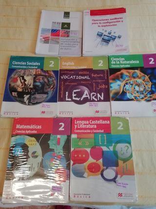 Libros segundo F.P Basica Informatica