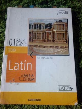libro de latin primero e bachillerato con cuaderni