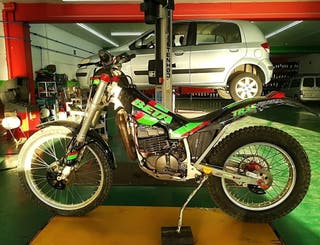 Moto trial Beta TR35