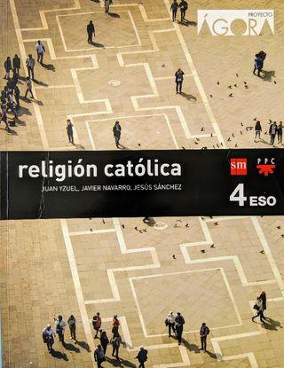 Libro Religión Católica 4° ESO (Usado)