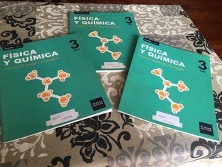 Libros fisica y quimica 3ºESO