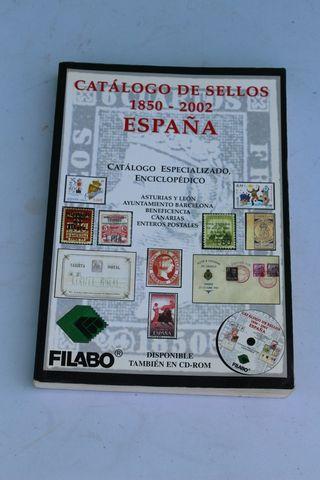 Catálogo sellos España 1850-2002