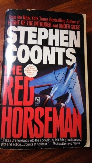 The red horseman de Stephen Coonts for sale  UK