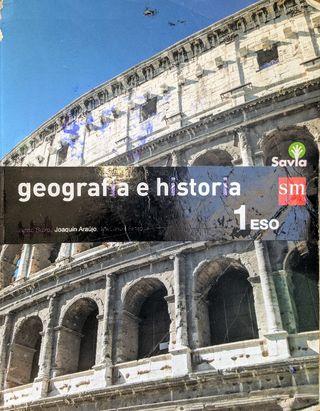 Libro Geografía e Historia 1° ESO (Usado)