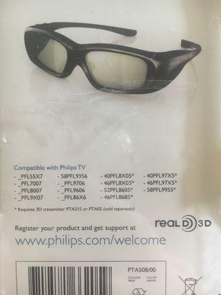 Gafas Philips 3D Active