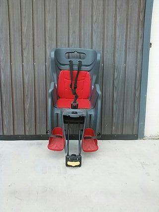 Silla bicicleta portabebés (trasera) reclinable