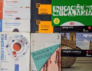 Libros 3° ESO (Usados)