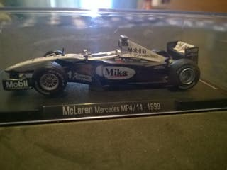 McLaren MP4/14 escala 1/43 F1 1999