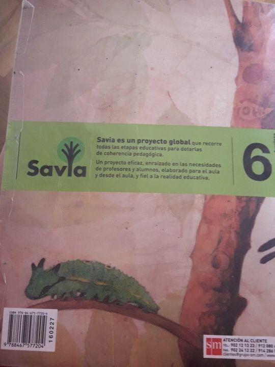 Libro ciencias de la naturaleza SM