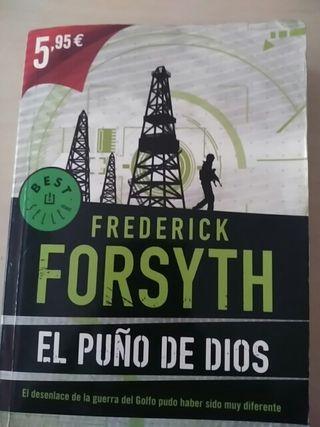 Libro El puño de Dios de Frederick Forsyth